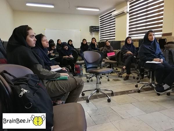 شرکت کنندگان دوره دانش مغز